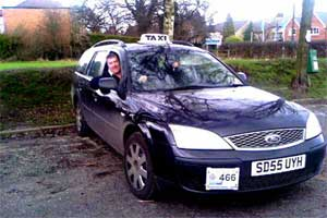 FORD MONDEO TAXI