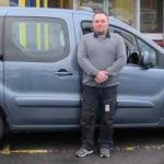 Rob Finlayson Peugeot Partner Taxi THUMB