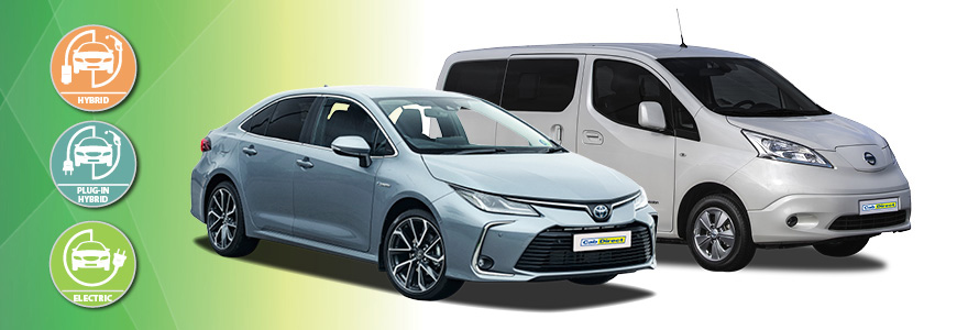 Electric and Hybrid Taxis for Sale